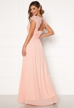 Chiara Forthi Amante lace Gown Apricote Bubbleroom.no