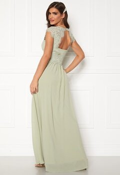Chiara Forthi Amante lace Gown Light green Bubbleroom.no