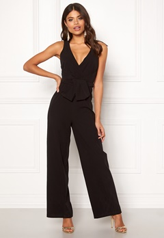 Chiara Forthi Angelina Jumpsuit Black Bubbleroom.no