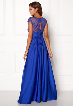 Chiara Forthi Annina Gown Blue Bubbleroom.no