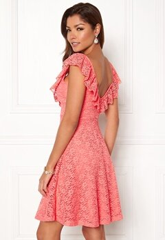 Chiara Forthi Ardiana Dress Coral pink Bubbleroom.no