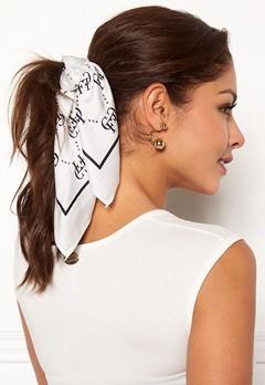 Chiara Forthi Arezzo scarf Black / Offwhite Bubbleroom.no
