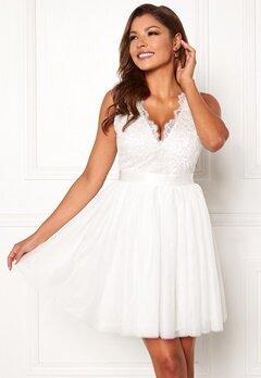 Chiara Forthi Audrey tulle dress White Bubbleroom.no
