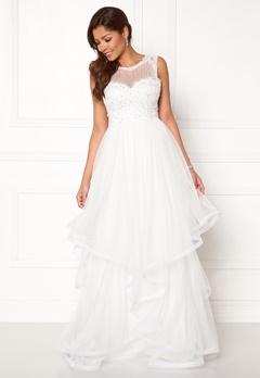 Chiara Forthi Aurora tulle gown White Bubbleroom.no