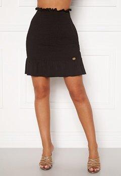 Chiara Forthi Bea smock skirt Black Bubbleroom.no