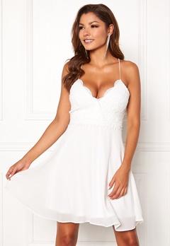 Chiara Forthi Bella dress White Bubbleroom.no