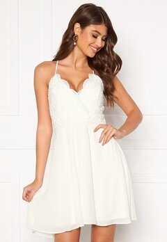 Chiara Forthi Bella dress White Bubbleroom.no