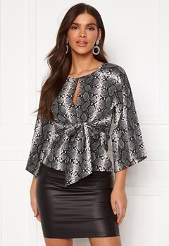 Chiara Forthi Bellora top Animal print Bubbleroom.no