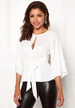 Chiara Forthi Bellora top Winter white Bubbleroom.no