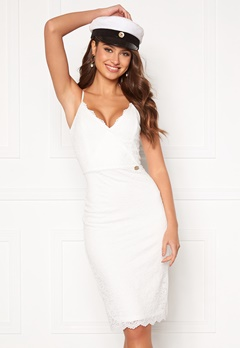 Chiara Forthi Berenice lace dress White Bubbleroom.no