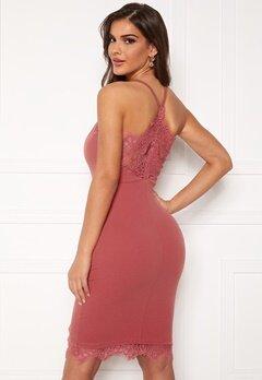 Chiara Forthi Bexy lace dress Dusty pink Bubbleroom.no