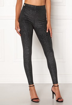 Chiara Forthi Beyonce leggings Black / Silver Bubbleroom.no