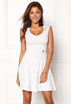 Chiara Forthi Biana Lace Dress White Bubbleroom.no