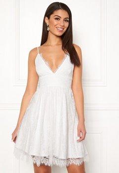 Chiara Forthi Blossom lace dress White Bubbleroom.no