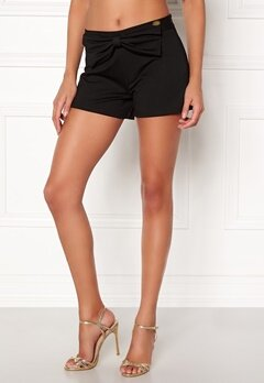 Chiara Forthi Bow Shorts Black Bubbleroom.no