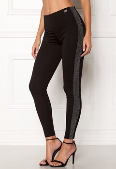 Chiara Forthi Brillante pants Black / Glitter Bubbleroom.no
