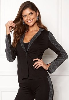Chiara Forthi Brillante suit jacket Black / Glitter Bubbleroom.no