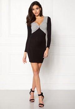 Chiara Forthi Calandra Dress Black / Grey melange Bubbleroom.no