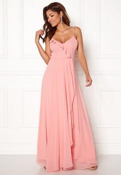 Chiara Forthi Carolinne dress Pink Bubbleroom.no