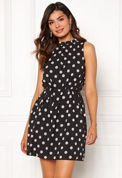 Chiara Forthi Caruso dress Dotted / Black Bubbleroom.no