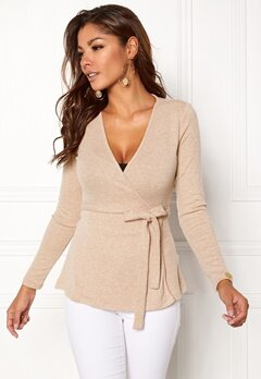 Chiara Forthi Cashmere-Feel Cozy Wrap Beige Bubbleroom.no