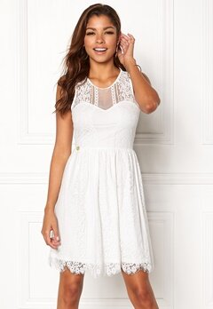 Chiara Forthi Celeste dress White Bubbleroom.no