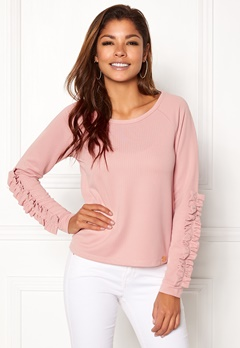 Chiara Forthi Ceria Top Dusty pink Bubbleroom.no