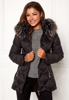 Chiara Forthi Cervina Down Jacket Black Bubbleroom.no