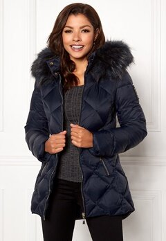Chiara Forthi Cervina Down Jacket Navy Bubbleroom.no