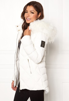 Chiara Forthi Cervina Down Jacket Offwhite Bubbleroom.no