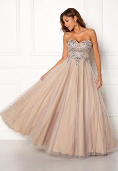 Chiara Forthi Chantilly Dress Silver Bubbleroom.no
