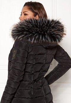 Chiara Forthi Chiara Faux Fur Collar Black / White / Brown Bubbleroom.no