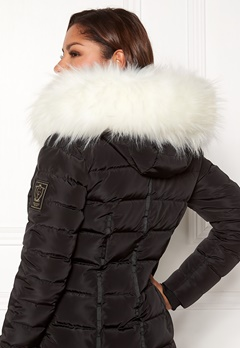 Chiara Forthi Chiara Faux Fur Collar White Bubbleroom.no