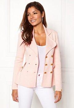 Chiara Forthi Chiara Heavy Knit Blazer Light pink Bubbleroom.no