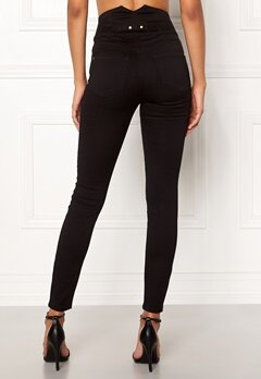 Chiara Forthi Chiara high waist jeans Black Bubbleroom.no