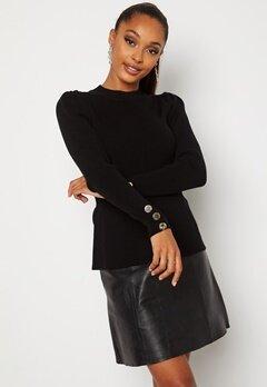 Chiara Forthi Claudina sweater Black bubbleroom.no