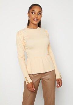 Chiara Forthi Claudina sweater Light beige bubbleroom.no