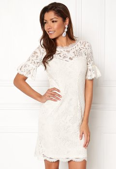 Chiara Forthi Cloelle Lace Dress Antique white Bubbleroom.no