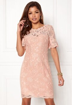 Chiara Forthi Cloelle Lace Dress Old rose Bubbleroom.no