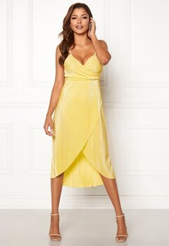 Chiara Forthi Corinne dress Yellow Bubbleroom.no