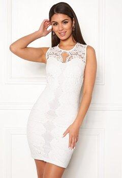 Chiara Forthi Corso scallop lace dress White Bubbleroom.no
