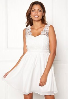 Chiara Forthi Daisy dress White bubbleroom.no