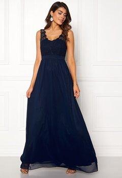 Chiara Forthi Daisy gown Dark blue bubbleroom.no