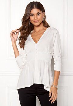 Chiara Forthi Darleen Shirt White Bubbleroom.no