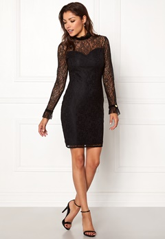 Chiara Forthi Dayanara dress Black Bubbleroom.no
