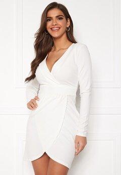 Chiara Forthi Delitia Wrap Dress  White Bubbleroom.no