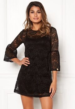 Chiara Forthi Dianne Dress Black Bubbleroom.no