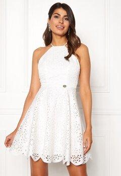 Chiara Forthi Elaine lazer cut dress White Bubbleroom.no