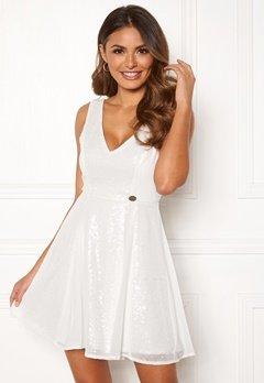 Chiara Forthi Eliza sequin dress White Bubbleroom.no