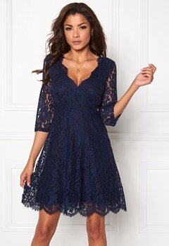 Chiara Forthi Ellix Dress - 2 Dark blue Bubbleroom.no